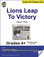 Lions Leap to Victory (Fiction - Newspaper Report) Grade L