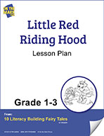 Little Red Riding Hood Aligned to Common Core Gr. 1-3 (ele