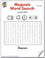 Magnets Word Search Lesson Plan