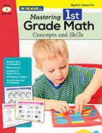 Mastering First Grade Math: Concepts & Skills Aligned to C