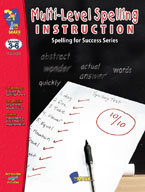 Multi-Level Spelling Instruction
