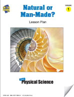 Natural Or Man-Made Lesson Plan