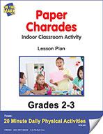 Paper Charades Lesson Plan (eLesson eBook)