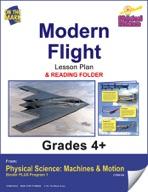Physical Science - Modern Flight e-lesson plan & Reading Folder