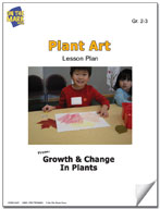 Plant Art Lesson Plan