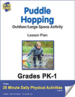 Puddle Hopping Lesson Plan (eLesson eBook)