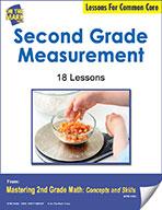 Second Grade Measurement Lessons for Common Core (eLesson eBook)