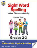 Sight Word Spelling Lesson Plan (eLesson eBook)