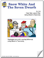 Snow White and The Seven Dwarfs Fairy Tale Lesson Using Bl