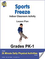 Sports Freeze Lesson Plan (eLesson eBook)
