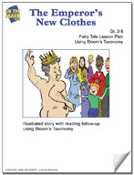 The Emperor's New Clothes Fairy Tale Lesson Using Bloom's