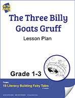 The Three Billy Goats Gruff Aligned to Common Core Gr. 1-3