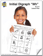 """Wh"" Digraph Lesson Plan"