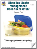 When has Waste Management Been Successful?  Lesson Plan