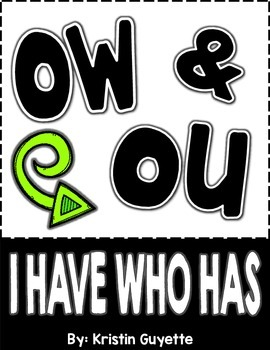 OU/OW I Have Who Has
