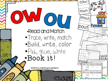 OU and OW - 5 Interactive Activities