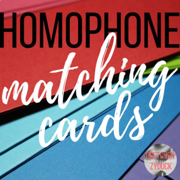 Homophone Matching