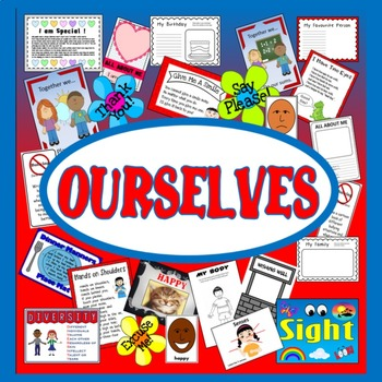 OURSELVES ALL ABOUT ME TEACHING RESOURCES KEY STAGE 1-2 EY