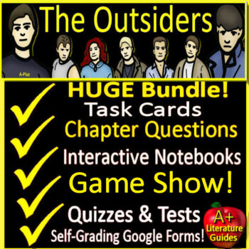 The Outsiders Novel Study Unit