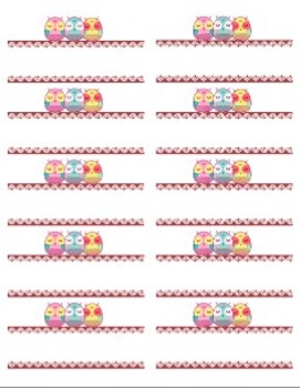 OWL AVERY 5163 LABELS
