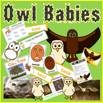 OWL BABIES STORY TEACHING RESOURCES, LITERACY, READING, EY
