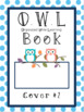 OWL Binder Covers - Choice of 2!