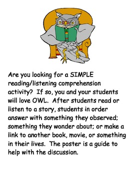 OWL Comprehension Activity