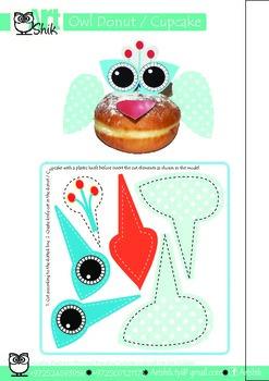 OWL Donut   Cupcake