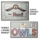 OWL LIFE CYCLE SCIENCE ACTIVITY RESOURCE CENTERS