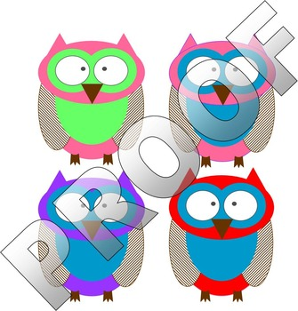 OWLS- Student name tags