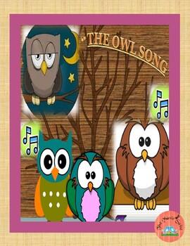 "OWLS !!!   ""The Owl Song"" original vocal recording and lyrics!"