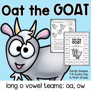 Oat the Goat {long o: oa, ow pack!}