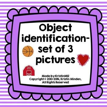 Object Identification-set of 3