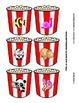 Object Matching - Popcorn Theme - File Folder style Printa