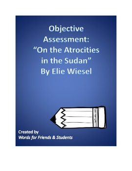 """Objective Assessment: """"On the Atrocities in the Sudan"""" by"""