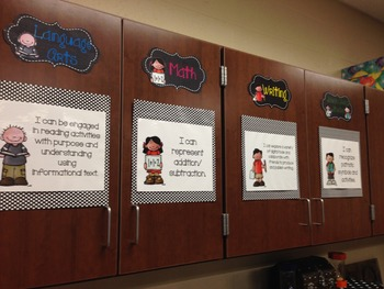 Objective Headers and CCSS