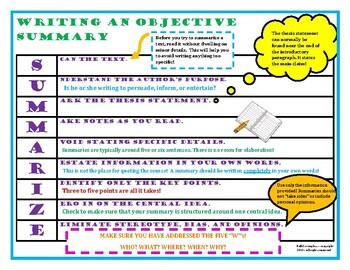 Objective Summary