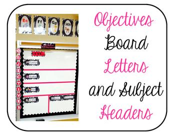 Objectives Board