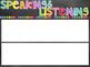 Objectives Board Headers | Chalkboard & Brights Themed