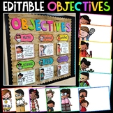 Objectives Bulletin Board Bundle {Melonheadz Edition}