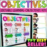 Objectives Bulletin Board Bundle {Melonheadz Edition}