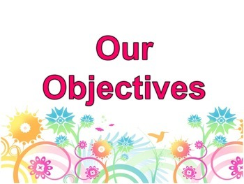 Objectives Poster