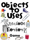 Objects to Uses Creative Thinking Game {Hello Indoor Recess!}
