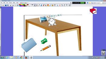 Objetos de Clase y preposiciones / Classroom objects and p