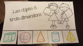 Objets à trois dimensions - FLIP BOOK
