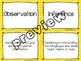 Observation & Inference Card Sort