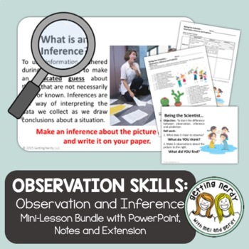 Observation and Inference PowerPoint and Notes - Scientifi