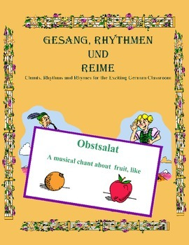 "German Musical Chant About Fruit, ""to Like"" Expressions -"