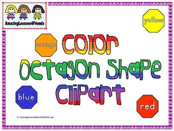 Ocatgon Shape Colors