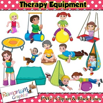 Occupational Therapy Equipment Clip art